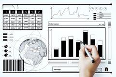 Concept de finances et d'économie images libres de droits