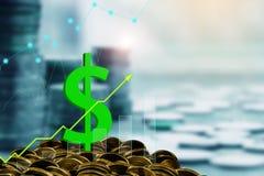 Concept de finances et d'investissement images libres de droits