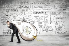 Concept de finances et de richesse photos libres de droits