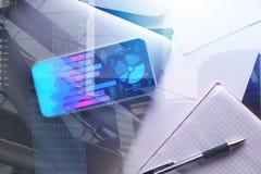 Concept de finances et de technologie Photo libre de droits