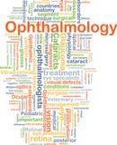 Concept de fond d'ophthalmologie illustration libre de droits