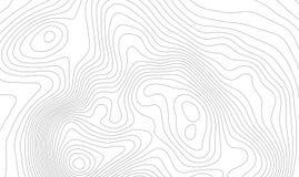 Concept de fond de carte topographique avec l'espace pour votre copie Découpe de schéma, sentier de randonnée topographie de mont illustration libre de droits