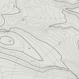 Concept de fond de carte topographique avec l'espace pour votre copie Découpe de schéma, sentier de randonnée topographie de mont Photographie stock