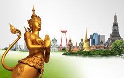 Concept de voyage de la Thaïlande Photo libre de droits