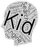 Concept de fond des textes de nuage de Word Photo stock