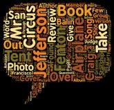 Concept de fond des textes de nuage de Word images libres de droits