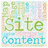 Concept de fond des textes de nuage de Word Photos libres de droits