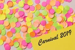 Concept de fond de partie de Carnaval L'espace pour le texte, copyspace Wr image libre de droits