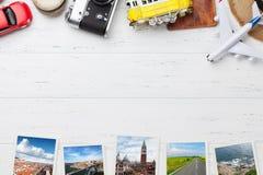 Concept de fond de vacances de voyage images libres de droits