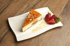 Concept de gâteau au fromage de potiron Image stock