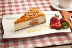 Concept de gâteau au fromage de potiron Photo stock