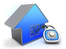 Concept de garantie à la maison Image stock