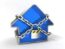Concept de garantie à la maison Photo libre de droits