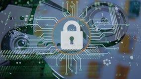 Concept de garantie de Cyber illustration libre de droits