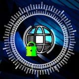 Concept de garantie de Cyber Photo stock