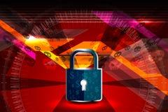 Concept de garantie de Cyber Image stock