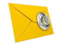 Concept de garantie de courrier Image stock