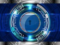 Concept de garantie de Cyber Photos libres de droits