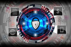 Concept de garantie de Cyber Images stock