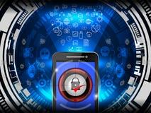 Concept de garantie de Cyber Image libre de droits