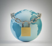 Concept de garantie du monde Photo libre de droits