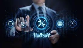 Concept de garantie de la qualité de garantie de service à la clientèle de support technique illustration libre de droits