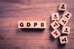 Concept de GDPR images stock