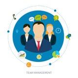 Concept de gestion illustration libre de droits