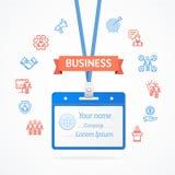 Concept de gestion d'entreprise Vecteur Photo libre de droits