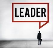 Concept de gestion de Leadership Lead Manager du Chef image stock