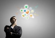 Concept de gestion de réseau Photos libres de droits
