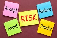 Concept de gestion des risques photos stock