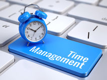 Concept de gestion du temps Image stock