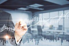 Concept de gestion de fonds photo stock