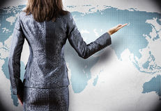 Concept de globalisation Images libres de droits