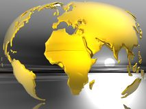 Concept de globe Photos libres de droits