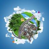 Concept de globe du monde Images stock