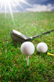Concept de golf ! Images libres de droits