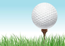 Concept de golf illustration stock