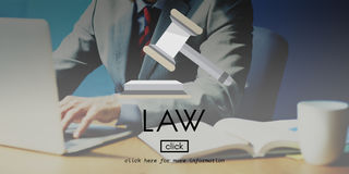 Concept de Governance Legal Judge d'avocat de loi images stock