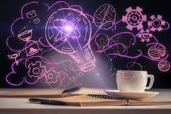Concept de grande idée image stock