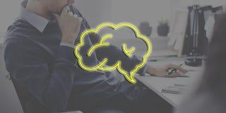 Concept de graphique de nuage de création d'idées de séance de réflexion de création image stock