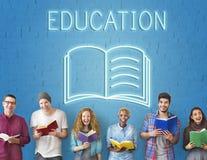 Concept de graphique de qualifications d'intelligence d'amélioration d'éducation Image libre de droits
