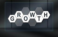 Concept de groei royalty-vrije illustratie