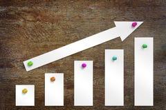Concept de groei en vooruitgang Royalty-vrije Stock Foto's