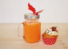 Concept de Halloween pour la nourriture Photo libre de droits