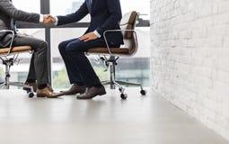 Concept de Handshake Corporate Colleagues d'homme d'affaires photo libre de droits