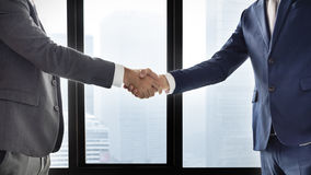 Concept de Handshake Corporate Colleagues d'homme d'affaires photos stock