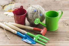 Concept de jardinage et de ressort Image stock