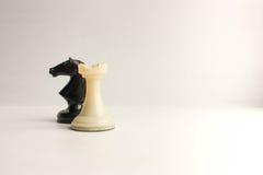 Concept de jeu d'équipe d'affaires noir Image libre de droits
